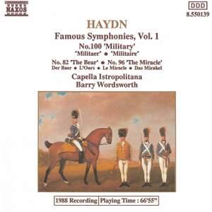 Haydn - Symphonies Volume 1