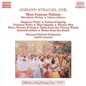 Most Famous Waltzes by Johann Strauss II