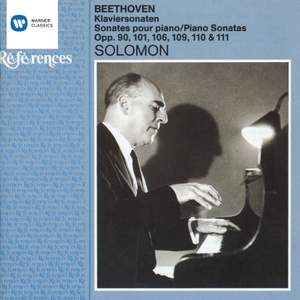 Beethoven: Piano Sonata No. 27 in E minor, Op. 90, etc.
