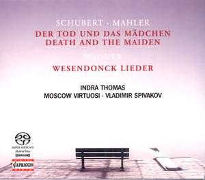 Schubert: String Quartet No. 14 & Wagner: Wesendonck Lieder
