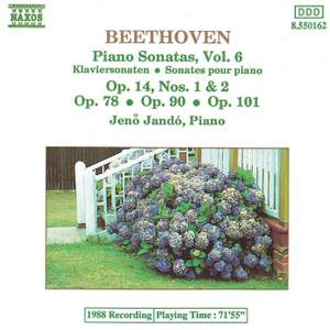 Beethoven: Piano Sonatas, Vol. 6 Product Image