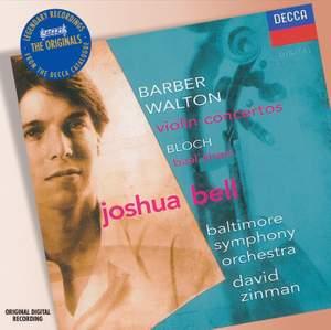 Barber & Walton - Violin Concertos Product Image