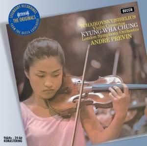 Tchaikovsky & Sibelius: Violin Concertos Product Image