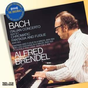 Bach: Italian Concerto, Chromatic Fantasia & Fugue & other works for keyboard Product Image