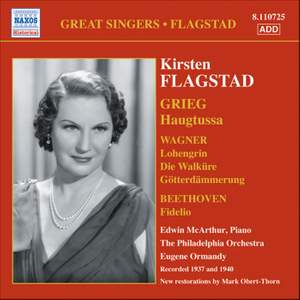 Grieg: Haugtussa and Arias from Beethoven & Wagner