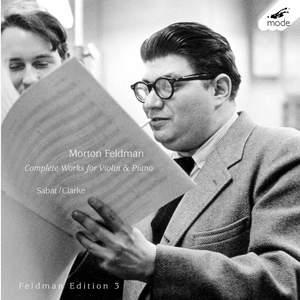 Feldman Edition Volume 3 - Complete Music for Violin & Piano