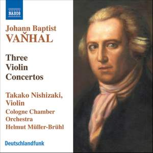 Vanhal - Three Violin Concertos