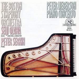 Lieberson, P: Piano Concerto