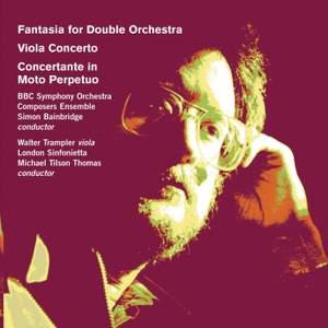 Simon Bainbridge: Fantasia for Double Orchestra