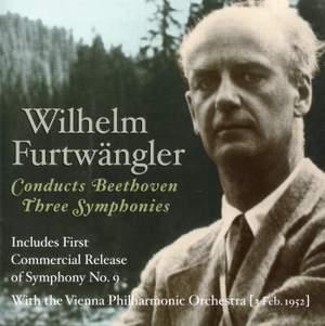 Wilhelm Furtwängler conducts Three Beethoven Symphonies Product Image