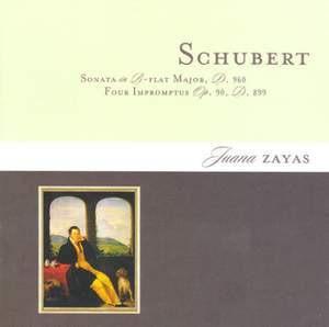 Schubert: Piano Sonata No. 21 and 4 Impromptus D899