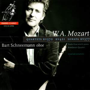 Mozart: Oboe Quartet