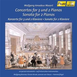 Mozart: Concertos for 2 & 3 Pianos
