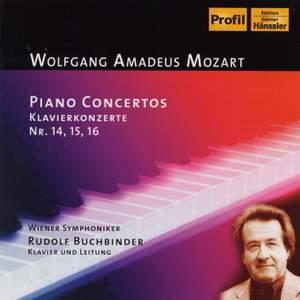 Mozart: Piano Concertos Nos. 14 - 16