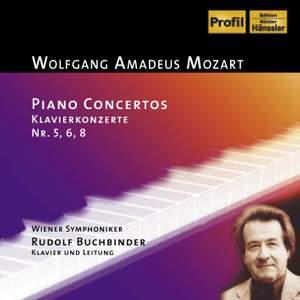 Mozart: Piano Concertos Nos. 5, 6 and 8