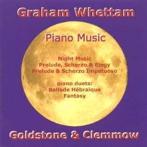 Graham Whettam - Piano Music