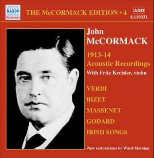 The McCormack Edition Volume 4