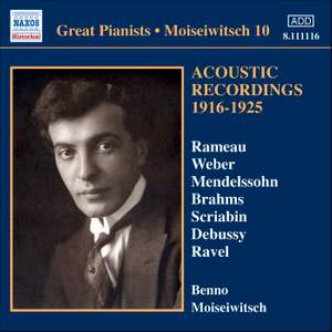 Great Pianists - Moiseiwitsch 10 Product Image