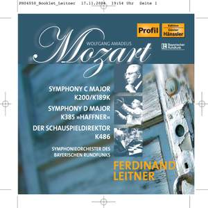 Mozart: Der Schauspieldirektor & Symphonies Nos. 28 & 25