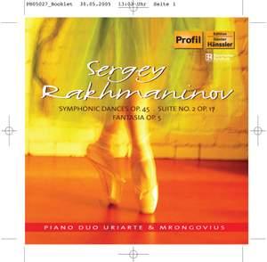 Rachmaninov: Symphonic Dances (for two pianos)
