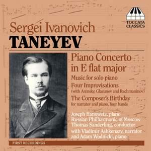 Taneyev: Piano Concerto