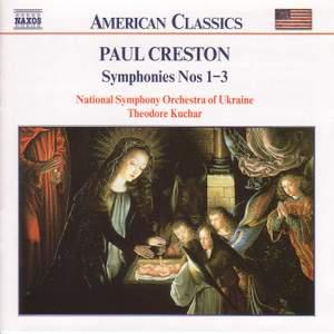 Creston: Symphonies Nos. 1-3 Product Image