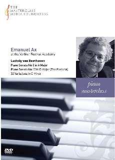 Emmanuel Ax at the Verbier Festival Academy