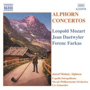 Alphorn Concertos Product Image