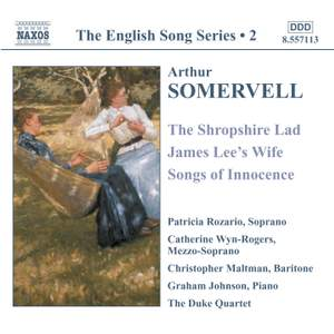 The English Song Series Volume 2 - Somervell Product Image