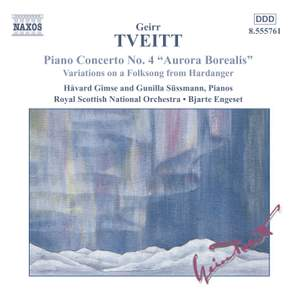 Tveitt: Variations on a Hardanger Folk Song & Piano Concerto No. 4 Product Image