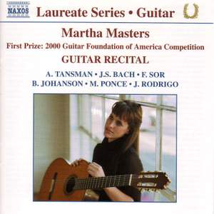 Guitar Recital: Martha Masters