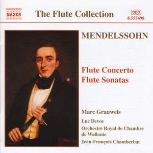 Mendelssohn: Flute Concerto & Flute Sonatas Product Image