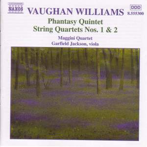 Vaughan Williams: Phantasy Quintet & String Quartets Product Image