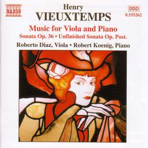 Vieuxtemps: Music for Viola and Piano