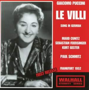 Puccini: Le Villi & Inno a Roma