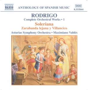 Rodrigo: Complete Orchestral Works, Vol. 1 Product Image