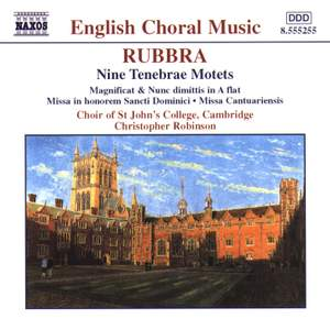 Rubbra - Sacred Choral Music Product Image