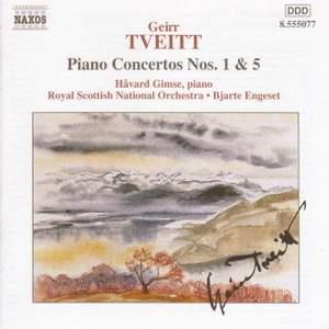 Tveitt: Piano Concertos Nos. 1 & 5 Product Image