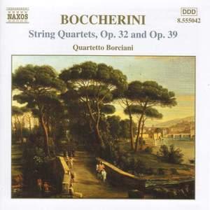 Boccherini: String Quartet in A major, Op. 39, etc.