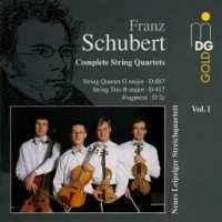 Schubert: Complete String Quartets Vol. 1