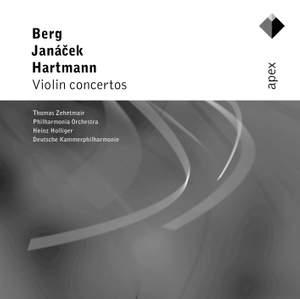 Berg, Janacek & Hartmann: Violin Concertos