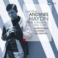Haydn: Keyboard Concertos No. 3, 4 and 11