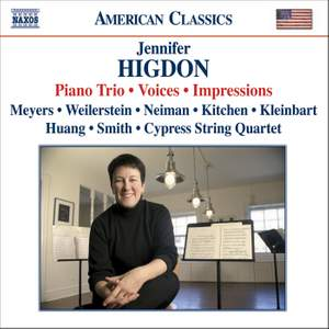 Jennifer Higdon - Piano Trio, Voices & Impressions Product Image