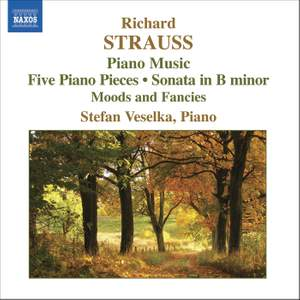 Richard Strauss - Piano Music Product Image