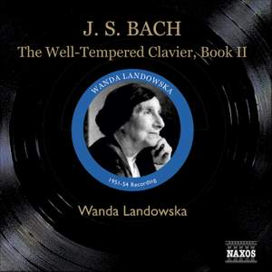 J S Bach: The Well-Tempered Clavier, Book 2