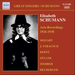 Great Singers - Schumann Product Image