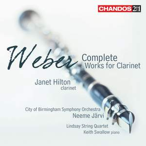 Weber - Complete Clarinet Works Product Image