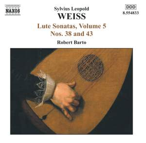 Weiss: Lute Sonatas Volume 5