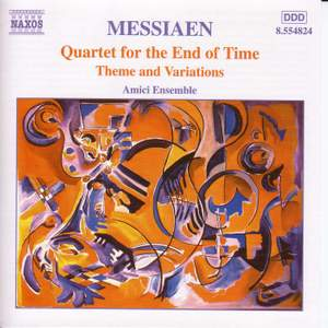 Messiaen - Quartet for the End of Time Product Image
