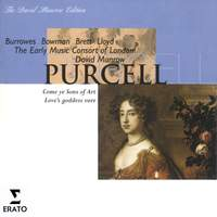 Purcell: Come ye sons of art (Ode for Queen Mary's birthday, 1694), Z 323, etc.
